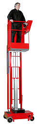 LIFTMAN - The portable pneumatic access platform for working at height